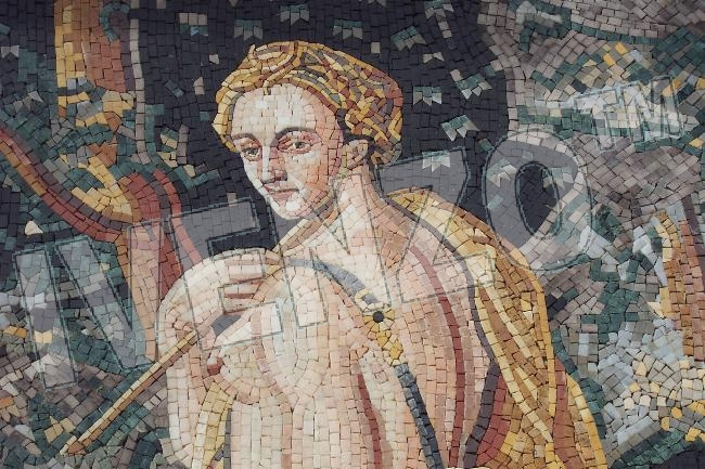 Mosaic FK001 Details Diana - Goddess of the Moon and Hunting 1