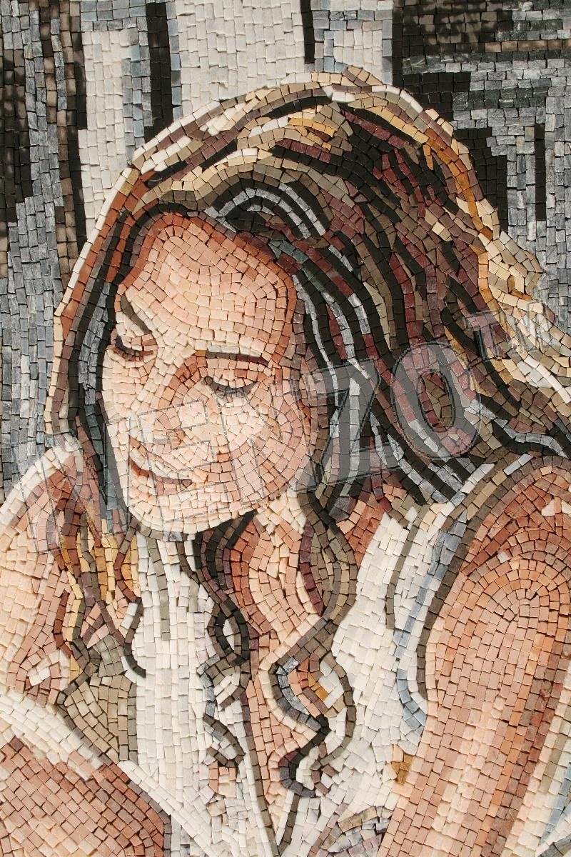 Mosaic FK115 Details Andy Lloyd: Woman Bathing 1