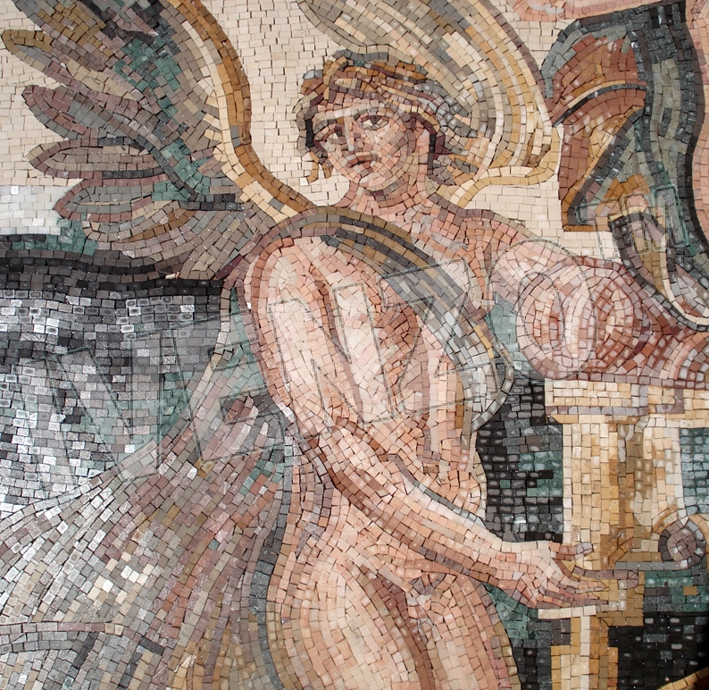 Mosaic FK120 Details Birth of Aphrodite / Venus 1