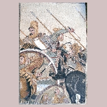 Mosaic Battle of Alexander at Issus