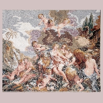 Mosaic Boucher: Rape of Europa