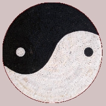 Mosaic ying and yang