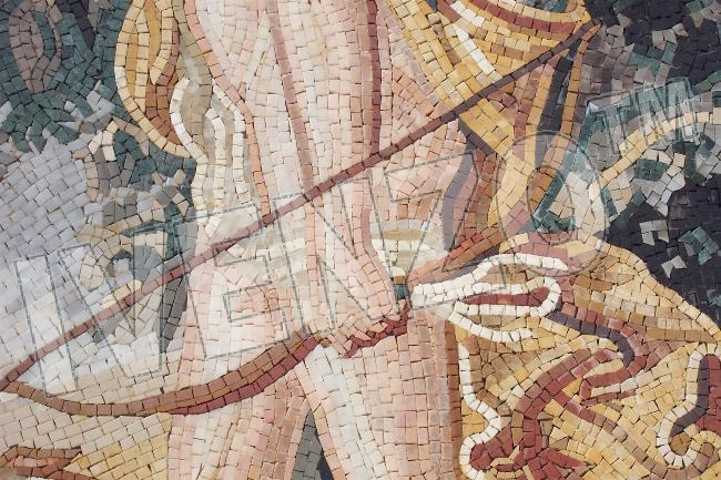 Mosaic FK001 Details Diana - Goddess of the Moon and Hunting 2