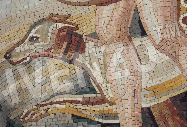 Mosaic FK001 Details Diana - Goddess of the Moon and Hunting 3