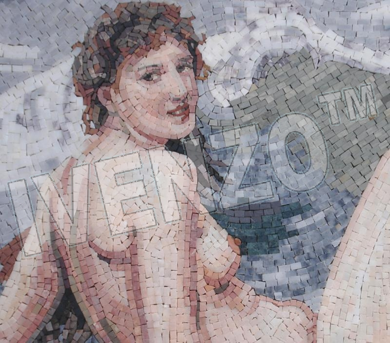 Mosaic FK040 Details Bouguereau: The Wave 1