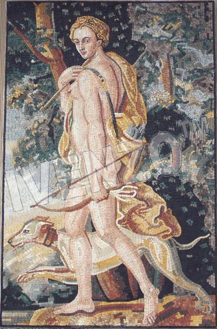 Mosaic FK001 Diana - Goddess of the Moon and Hunting