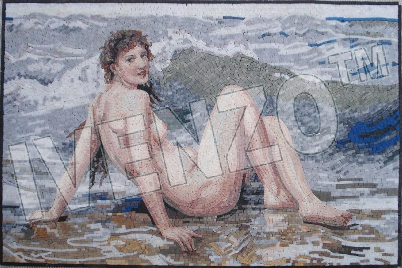 Mosaic FK040 Bouguereau: The Wave