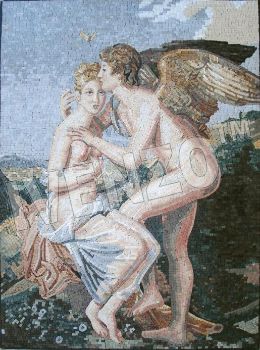 Mosaic FK042 Gérard: Cupid and Psyche