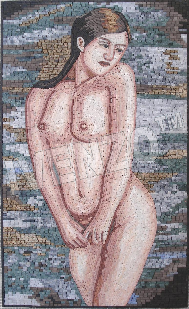 Mosaic FK052 Young Woman in the Water