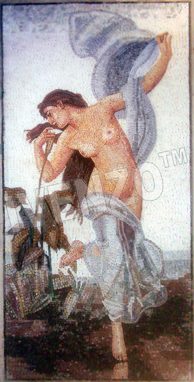 Mosaic FK058 Bouguereau: Dawn