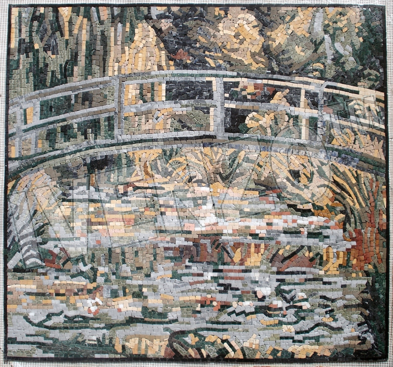 Mosaic FK060 Monet: Water Lily Pond