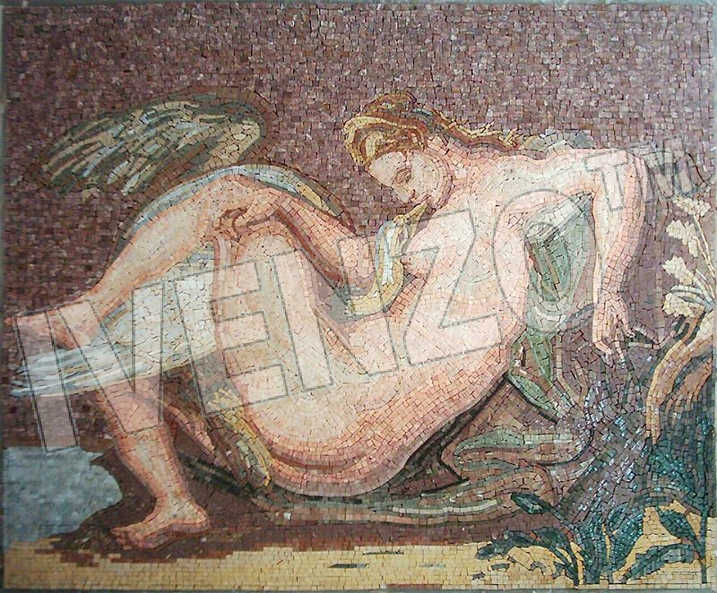 Mosaic FK064 Rubens: Leda and the Swan