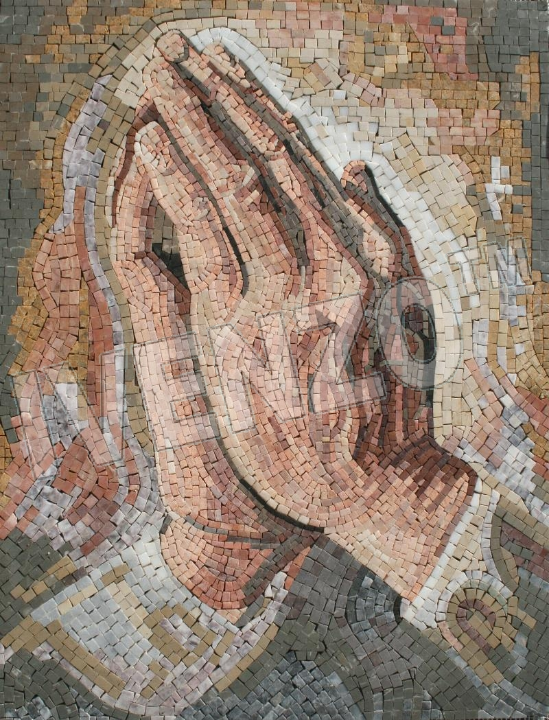 Mosaic FK088 Albrecht Dürer: Praying Hands