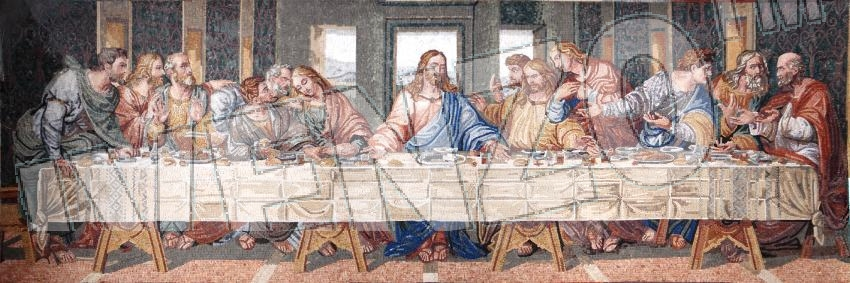 Mosaic FK110 Leonardo da Vinci: The last Supper