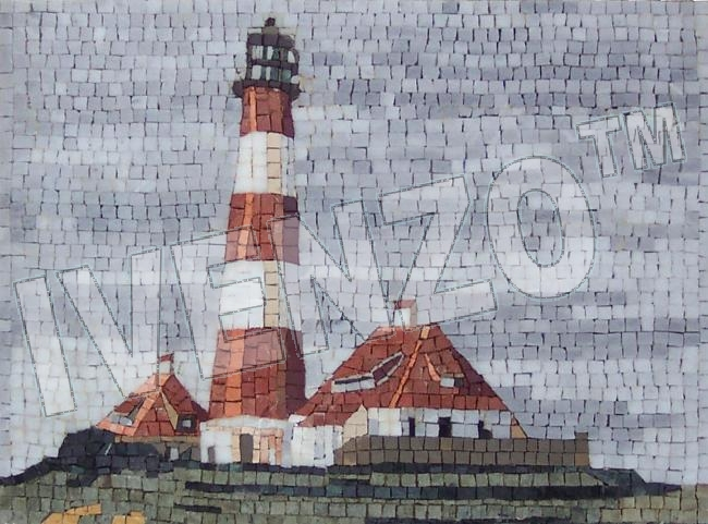 Mosaic LK002 Lighthouse Westerhever
