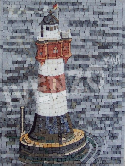 Mosaic LK003 Lighthouse Red Sand