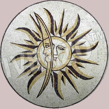 Mosaic MD105 sun and moon