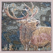 Mosaic Red Deer
