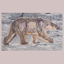 Mosaic polar bear