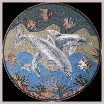 Mosaic dolphins