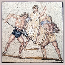 Mosaic Gladiators of Nennig