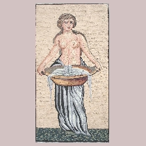 Mosaic Woman with Washbowl