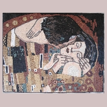 Mosaic Gustav Klimt: The Kiss