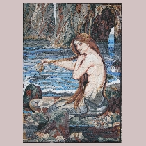 Mosaic Waterhouse: Mermaid
