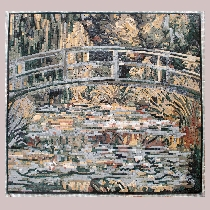 Mosaic Monet: Water Lily Pond