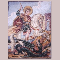 Mosaic Saint George