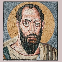 Mosaic Apostle Paul from Ravenna