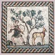 Mosaic Diana, Godnes of Hunting