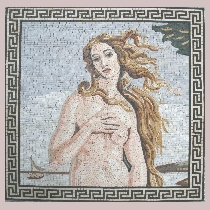 Mosaic Botticelli: Birth of Venus