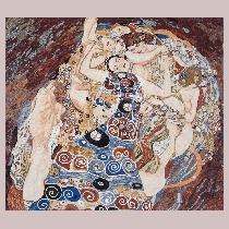 Mosaic Klimt: Virgin