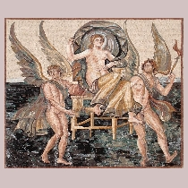 Mosaic Birth of Aphrodite / Venus