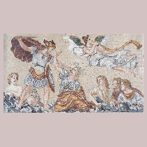 Mosaic Beheading of Medusa