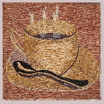 Mosaic Cup of Coffee