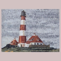 Mosaic Lighthouse Westerhever