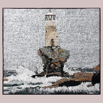Mosaic Tourlitis-Lighthouse Andros