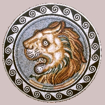Mosaic Lion from Sabrata
