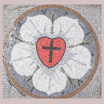 Mosaic Luther Rose